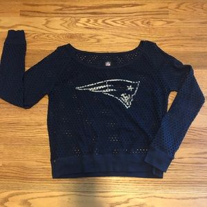 New England patriots mesh top size XL